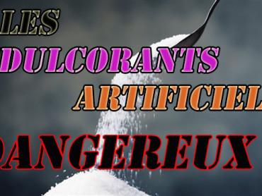 édulcorants artificiels