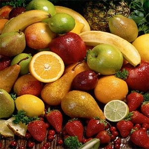 calories dans fruits