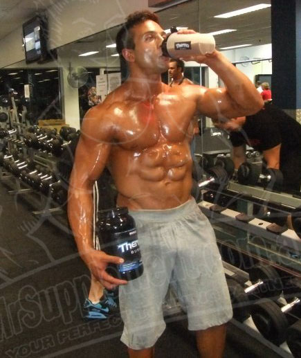 proteine avant la musculation