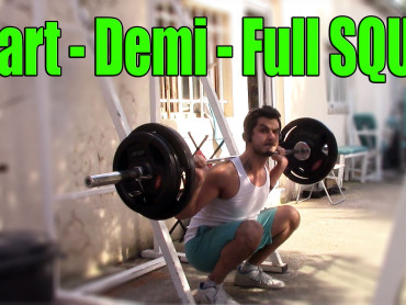Quart-demi-full squat