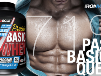 IRON MUSCLE whey