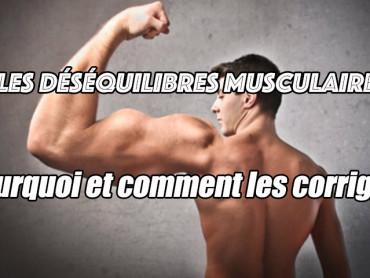 déséquilibre musculaire