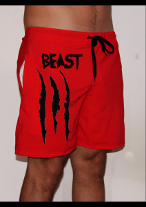 maillot beast rouge