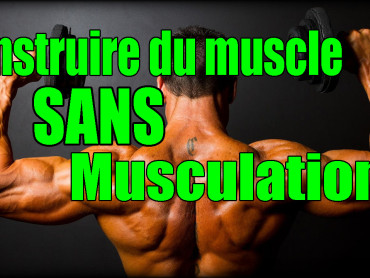 muscles sans musculation