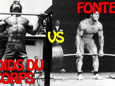 poids-du-corps vs fonte